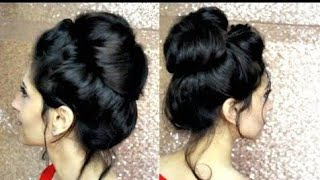 How to Perfect Messy Bun with JUST A HAIR ELASTIC // LONG HAIR II NGWorld