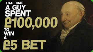 That Time A Guy Spent £100,000 to Win a £5 Bet (Stories About Rich People)