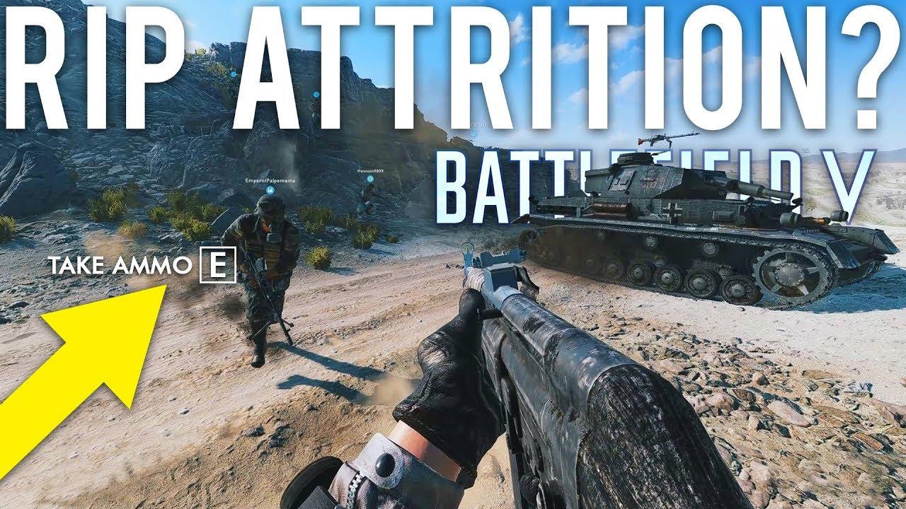 Battlefield V R.I.P Abrieb? + video