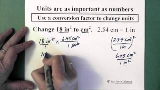 9. Conversion Factors: Changing Squared Units