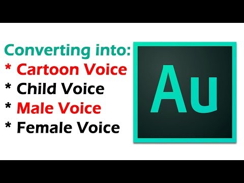 Simple Step for Making Cartoon Voice on Adobe Audition
