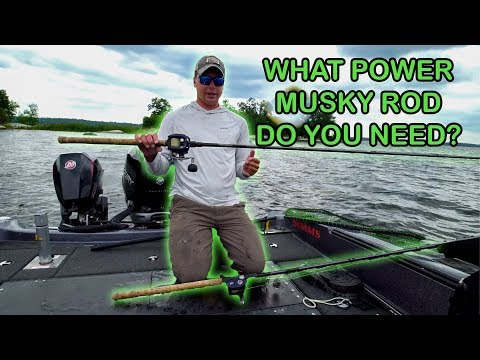 How To Pick A Musky Rod (Guiding On LOTW) First Cast Musky!