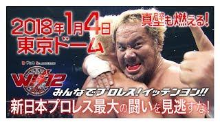 真壁刀義も燃える!1月4日は東京ドームで新日本プロレスだ!! 真壁刀義 検索動画 29