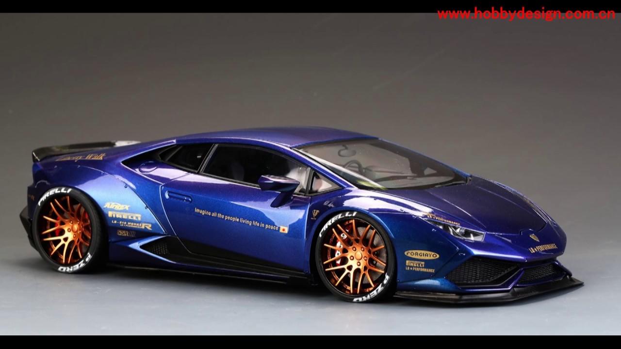 1:18 Lb Lamborghini Huracan Finish Car Model Chameleon