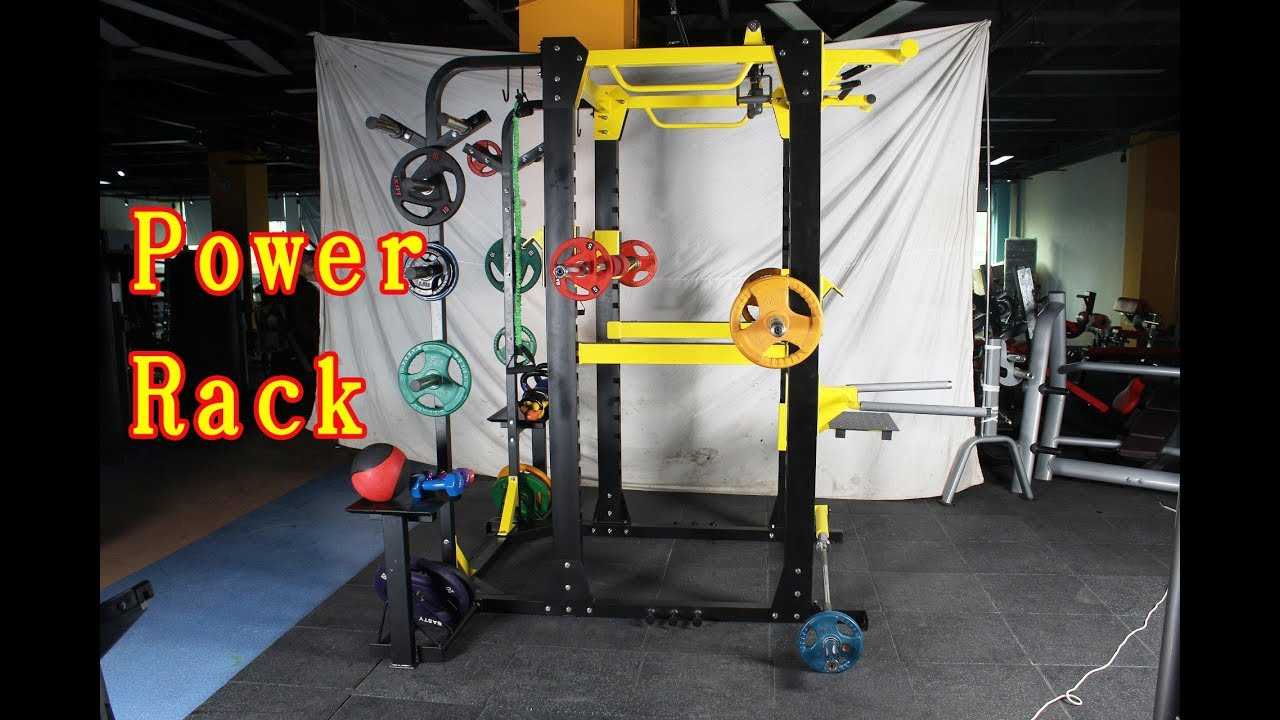 Multifunction Hammer Strength Power Rack Introduction - BFT Fitness