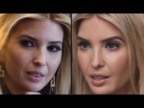 Why Ivanka Trump's Eyes Appear To Be Changing Color