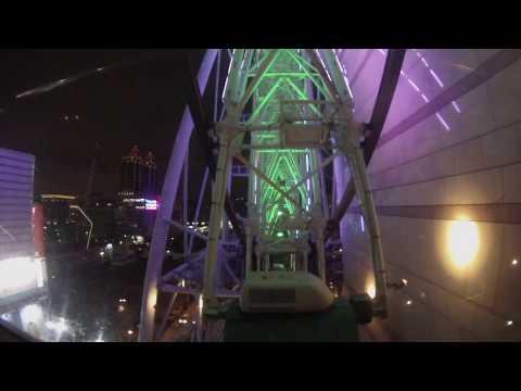Taipei, Taiwan - Miramar Entertainment Park Ferris Wheel POV (6x Speed) HD (2017)