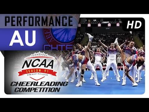 NCAA 91 Cheerleading Competition: AU Chiefs Squad
