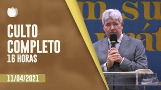 CULTO VESPERTINO 16H   Rev. Hernandes Dias Lopes   Igreja Presbiteriana de Pinheiros   IPP TV