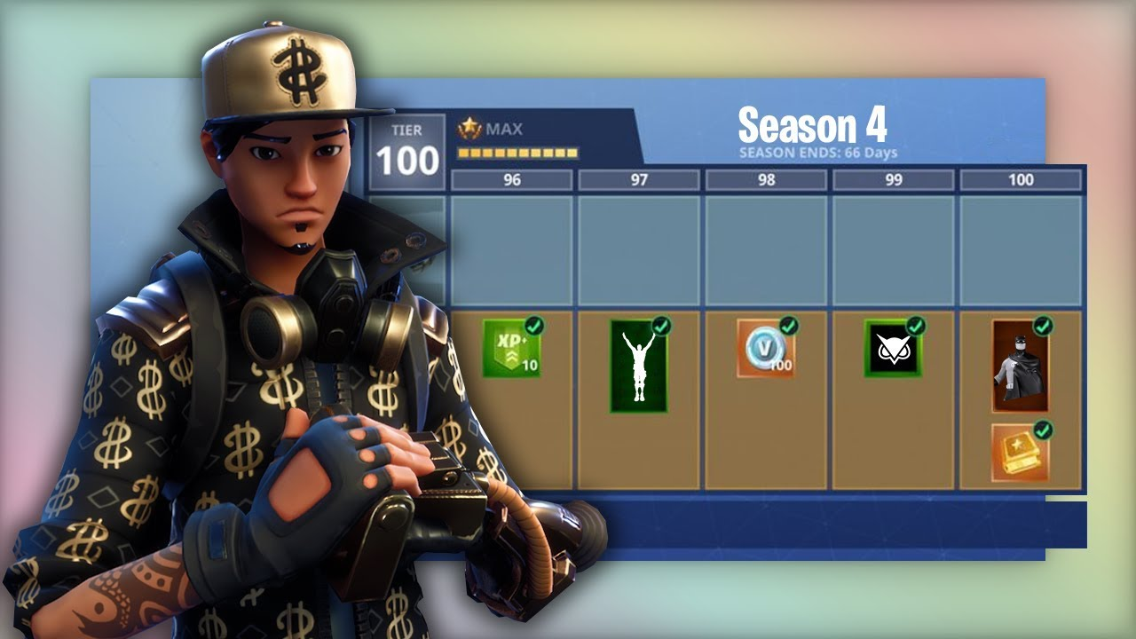 How To Level Up Fast In Season 4 On Fortnite Battle Royale Youtube