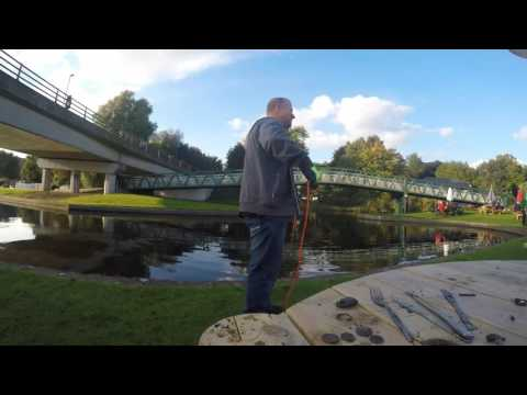 magnet fishing nottingham canal with 150kg pull magnet