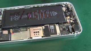 iPhone 5s споживання і заміна підсвічування ( Ремонт це просто)