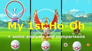 My 1st Ho-Oh ( & some throw analysis and comparisons )