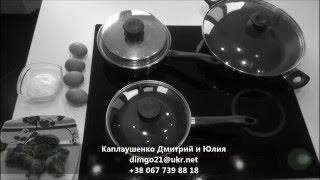 Яичница со шпинатом в сковороде iCook