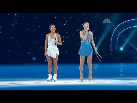 """Hero"" by Yu-Na Kim & Michelle Kwan (2010 All That Skate LA)"