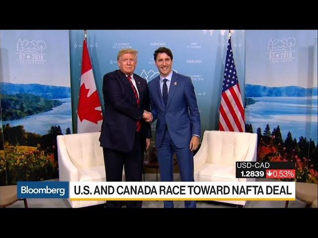 U.S. and Canada Race Towards Nafta Deal