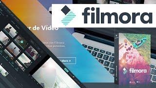 Tutorial completo Filmora - El mejor programa de edición de vídeo - Efectos | En español thumbnail