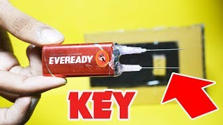 HOW TO MAKE SECRET KEY LOCKER AT HOME