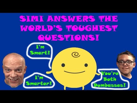 Simsimi Fun | Simi Answers The World's Toughest Questions!