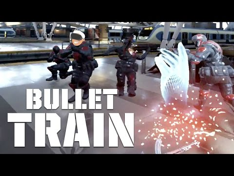 Taking A Trip Inside The Matrix With Bullet Train In The Oculus Rift With Touch