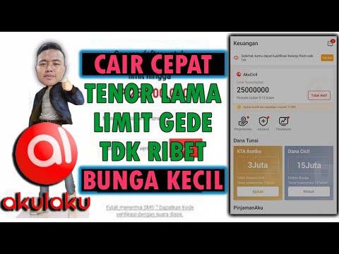 Cara Pinjam Uang AKULAKU | PINJOL Langsung Cair - YouTube