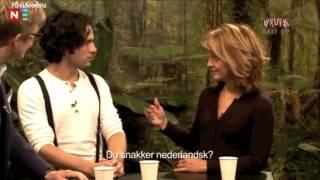 I kveld med Ylvis - Vegard imitates speaking Dutch (Eng. subs)