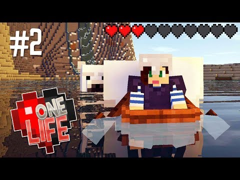 THIS WASN'T THE PLAN! - ONE LIFE MINECRAFT...