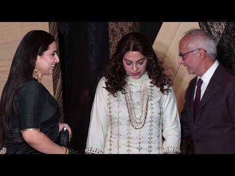 Juhi Chawla With Husband Jay Mehta, Vidhya Balan Arrives At Sakshi Bhatt  Wedding Reception