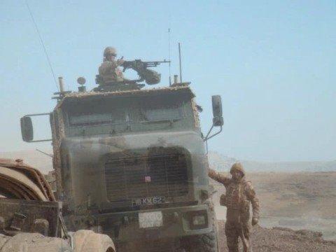 British Army Oshkosh Heavy Equipment Transporters Tank