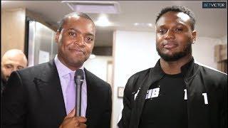 Exclusive LOCKER ROOM Viddal Afrer AnEsonGib SUFFERS KO LOSS vs Jake Paul I Miami Fight Night