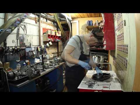 Дефектовка автоматической коробки MDKA/BDKA от автомобиля акура мдх 03-06