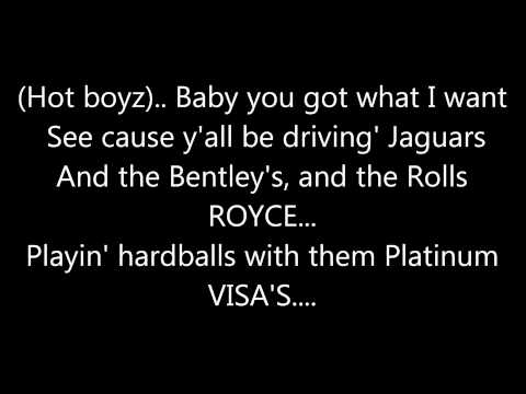 MISSY ELLIOT - HOT BOYZ (REMIX) **(LYRICS ON SCREEN)**