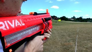 Nerf Rival Zeus MXV 1200 Review and Shooting