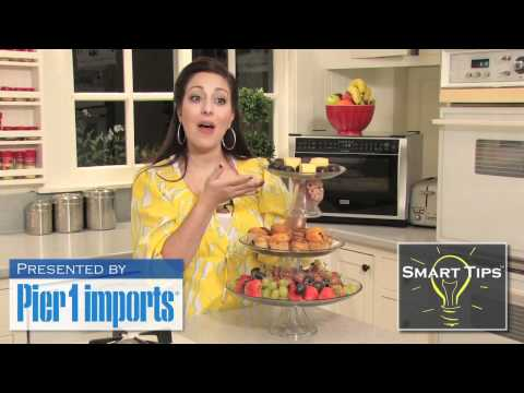 Smart Tips - Tiered Serving Platters by Michelle Karam
