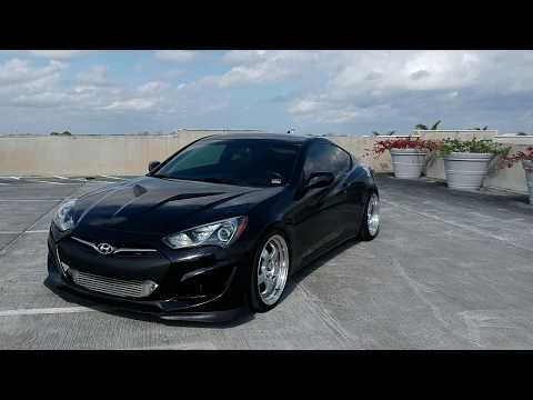 Genesis Coupe 2.0T Gets Garrett Turbo Upgrade Races RB26 350z pushing 600 whp 370z, G37