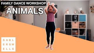 Family Dance Workshop for kids aged 2 – 6: Animals
