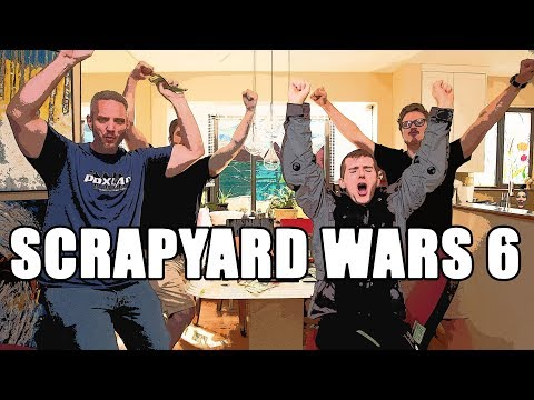 Scrapyard Wars 6 Pt. 3 - $1337 Gaming PC Challenge