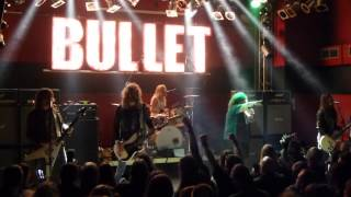 Bullet - Midnight Oil & Rush Hour - Essen (Turock) 08.10.2012