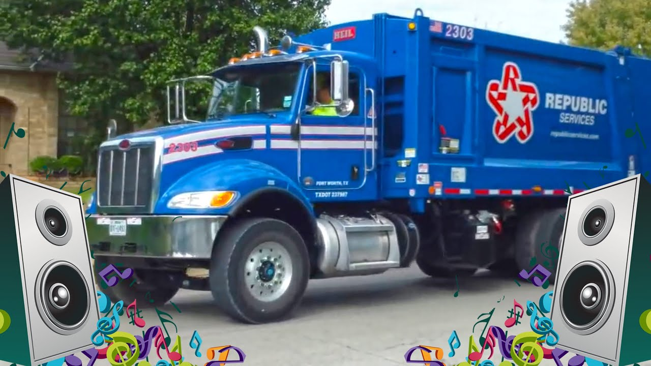 kids garbage truck song for kids the curb garbage truck songs for children youtube. Black Bedroom Furniture Sets. Home Design Ideas