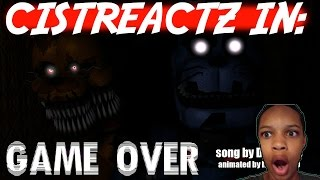 [SFM FNAF 4 SONG] Game Over REACTION | THE BLOOD WAS ALWAYS YOURS