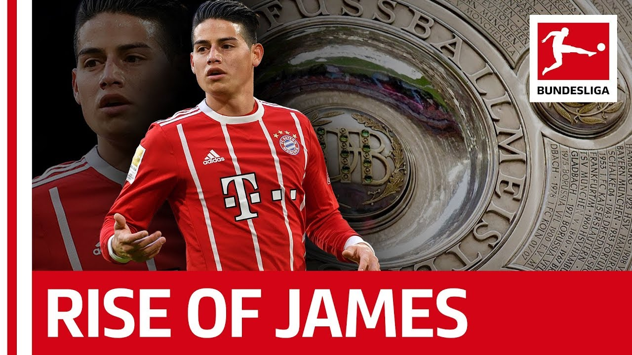 The Story Of James Rodriguez in the Bundesliga