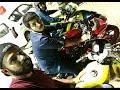 Shelby Cafe racer vs Bmw R5v2 Kawasaki Ninja   R2 racing at Lahore canal road   Shelby Motosports