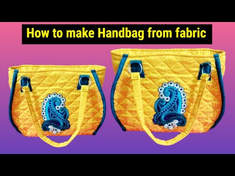 super new handbag design make at home DIY