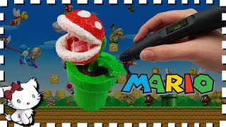 3D Pen Art Creation ♥ Making Mario