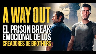 A WAY OUT: El PRISION BREAK de los CREADORES de BROTHERS