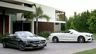 Mercedes-Benz TV: The new S-Class Cabriolet.