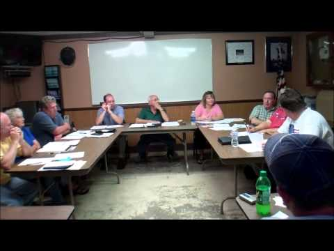 Bettsville Village Council meeting -PORTION 080514