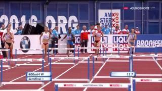 400m Hurdles Women's Semifinals 1 - European Athletics Championships 2016