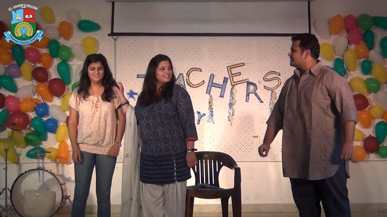 St  Xavier's College, Jaipur - Teacher's Day - Skit