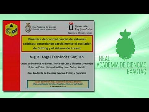 Miguel Ángel Fernández Sanjuán, 8 de mayo de 2019.Segunda conferencia de la sesión científica organizada por la sección de Ciencias Exactas.▶ Suscríbete a nuestro canal de YouTubeRAC: https://www.youtube.com/RealAcademiadeCienciasExactasFísicasNatur